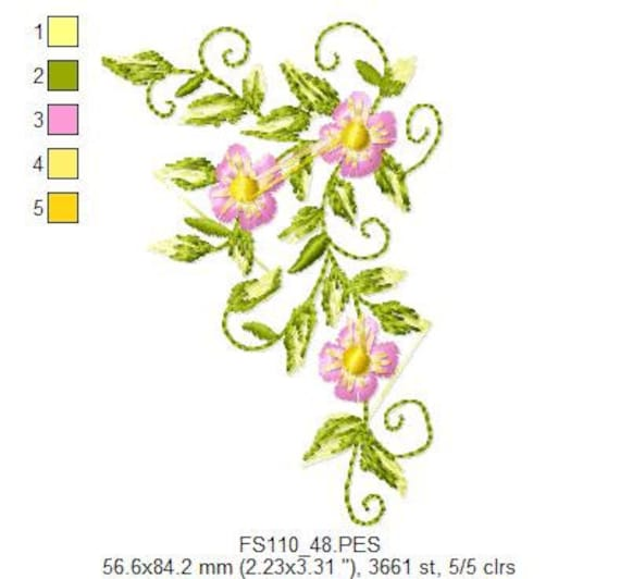 Borders and Corners Embroidery Designs - PES