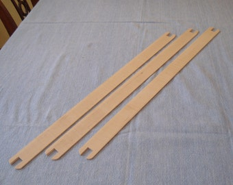 Lost Pond Looms Shuttle Sticks (SET OF 3) for Loom Weaving