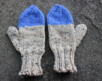 """Color """"Dipped"""" Mittens"""