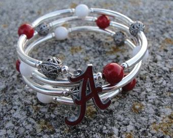 Alabama wrap around bracelet