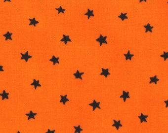 Happy Howloween Black Stars on Orange from Deb Strain