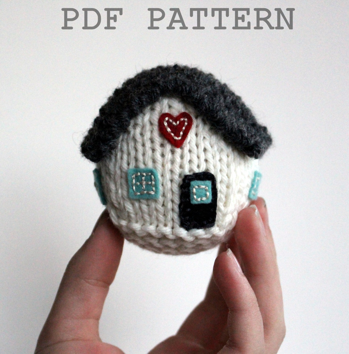 knitting pattern little house new home first home