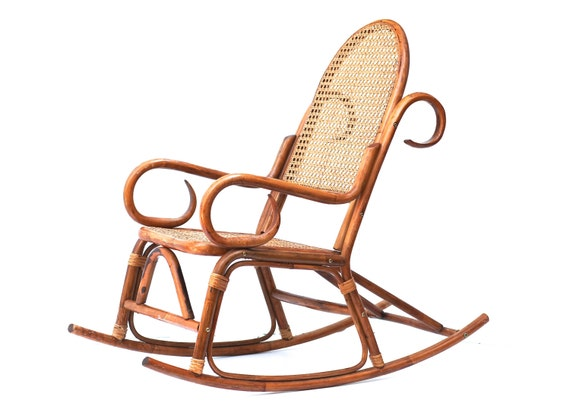 bentwood vintage rocking chair