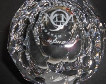 McDonald's Restaurant vintage Bowl Crystal Glass