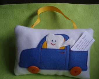 Fleece Tooth Fairy Pillow