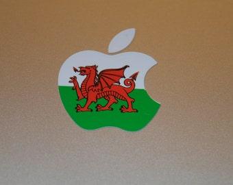 Welsh Flag MacBook Decal