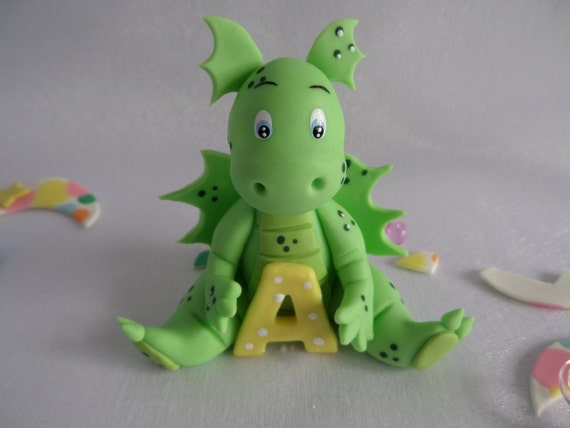 Dinosaur Cake Decorations Toppers : Baby Dinosaur . cake topper decoration ornament