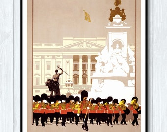 Vintage Travel Poster - London by Lner / 11x18 Inches