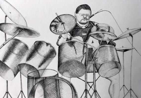 Custom Portrait- Original Pencil Drawing