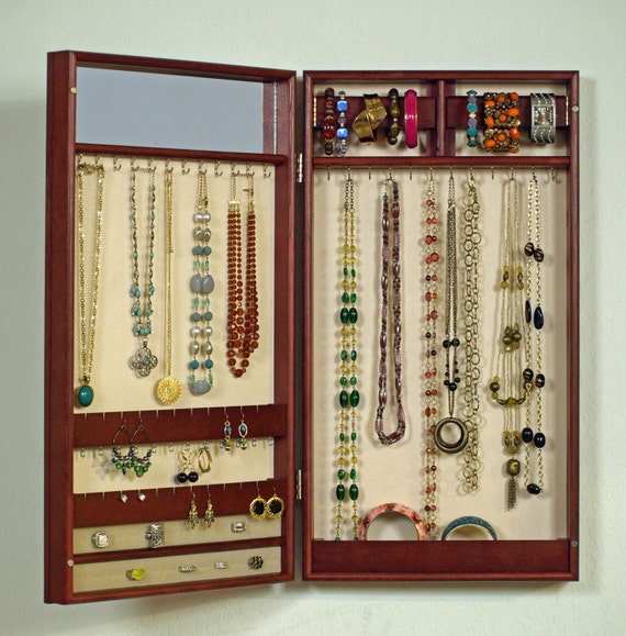 wall mounted jewelry cabinet unavailable listing on etsy 28097