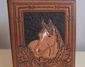 Beautiful Tooled Leather Photo Album