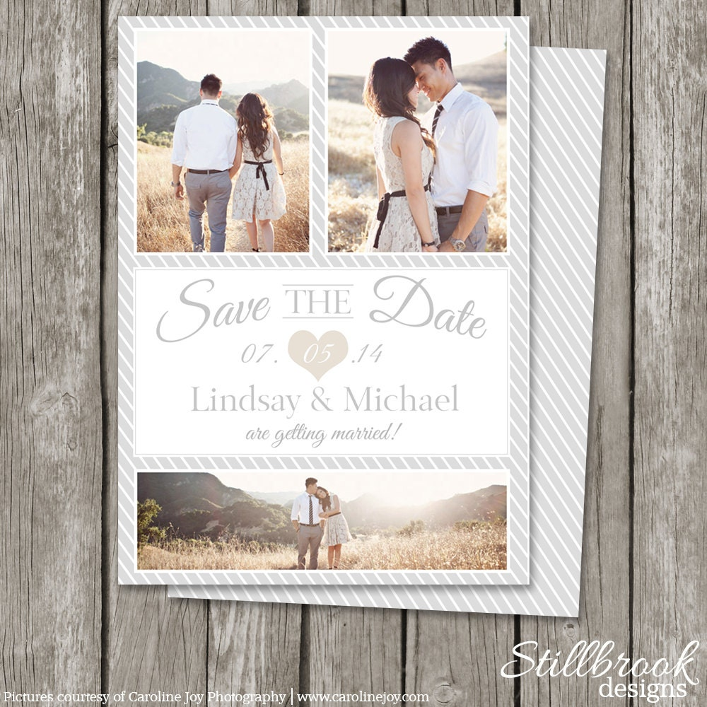 save the date template card printable save the date photo