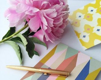 Pattern Notecards - Set of 6