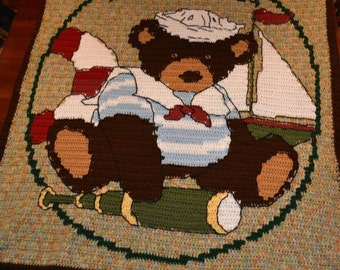 Awesome Teddy bear afghan!