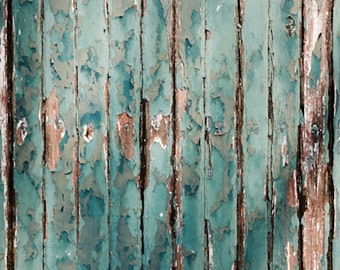 Weathered Paint Plank Photography Floor Mat