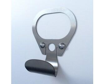 Retro ring pull coat hook
