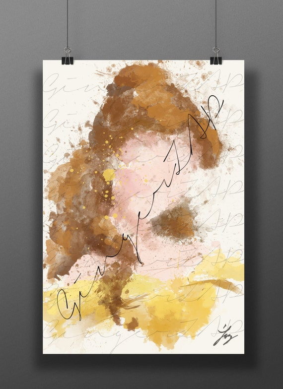 Princess of the Beast // Impressionist Digital Painting