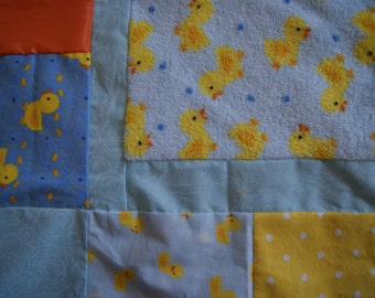 Duck Quilt for Baby