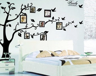 Family Tree Wall Decal Sticker ~ XL