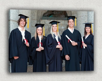 Photo to Canvas/ Personalized Picture On Canvas/ Graduation Picture/ Graduation Gift Idea