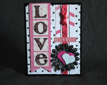 Love, Me and You Valentine Card