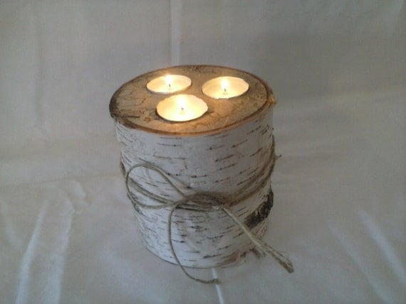 Birch Wood Candles