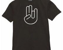 Shocker Icon T Shirt Black funny