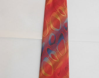 Cool Early 1970s Bold Tie