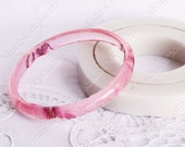 Bangle silicon mold, bracelet mould, for epoxy resin, MB5 (80)