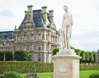 Paris France Photography, Jardin des Tuileries, Paris Gardens Photo, Paris Travel Photography, 8x12 Photo Print