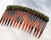 wire wrapped extra fancy hair combs