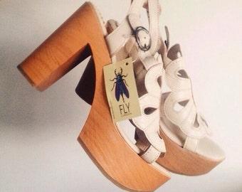 Fly London model sandal clog