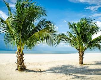 Stunning beach of Langkawi, Malaysia.