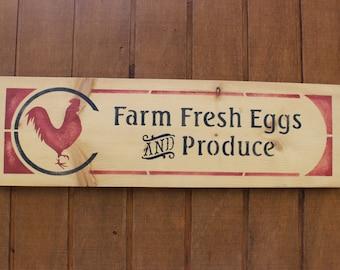 Farm Fresh Produce Sign