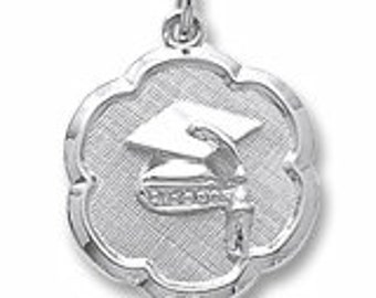 Sterling Silver Graduation Charm by Rembrandt