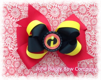 The Incredibles hair bow