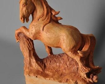 Horse, Irish cob 'The gap'