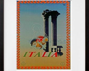 Travel Art Italy Print Poster Italian Vintage Home Decor (XR77)