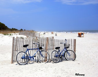 Beach Bikes, Hilton Head Island, South Carolina, Original Fine Art Photography
