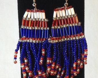 Beaded Earrings Vintage