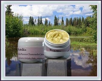Nettle-Plantain-Chamomile-Calendula Cream, with Shea Butter, Tea Tree Oil