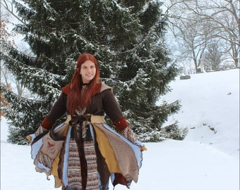 "Custom Fairy Coat of earth and sky  ""Sweet Heart"" custom"
