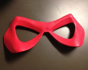 Red Domino Superhero Mask