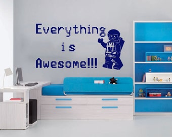 Everything is Awesome Wall Decal