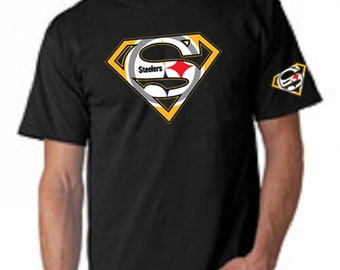 Popular items for steelers tshirt on etsy for Custom t shirt printing pittsburgh