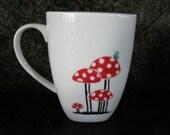 Mushroom Sharpie Mug