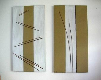 Grande dipinto moderno nero quadro su tela sala da pranzo for Quadri moderni minimalisti