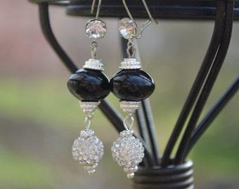 Wedding Earrings, Bridal Jewelry, Bridal Earrings, Wedding Jewelry, Black Tie Event,  Dangle Earrings,  Earrings,  Gifts for Her