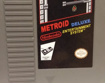 Metroid Deluxe NES Reproduction | Nintendo | Retro Gamer | Classic Game | Repro | 8 bit | Translation