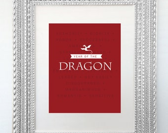 Poster Print - Year of the Dragon